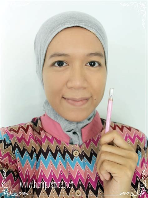 Pensil Alis Sulamit heni puspita simple daily make up with sulamit kosmetik