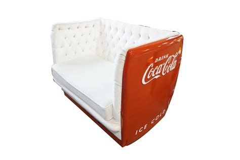 couch cooler very cool couch made from an original 1950s coca cola