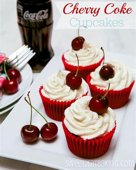 imagenes variadas originales cherry coca cola coke cupcakes receta magdalenas