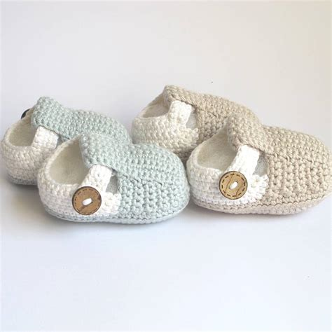 crochet shoes baby crochet t bar baby shoes by attic