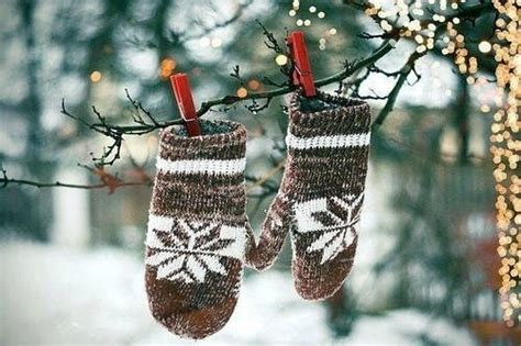 mittens hanging  tree br pictures   images  facebook tumblr pinterest