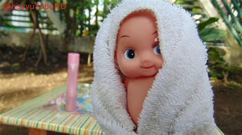 mainan boneka bayi mandi baby bathtup playset