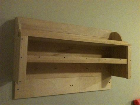 shaker inspired wall shelf by tdog lumberjocks