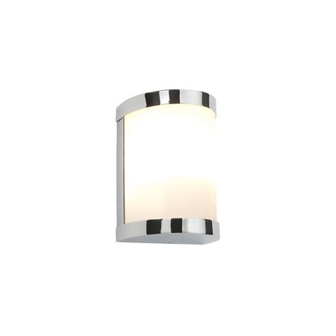Saxby Bathroom Lighting Saxby Lighting 39362 1 Light Bathroom Chrome And White