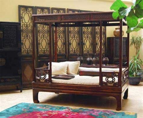 chinese beds solid teak indonesian bed my house pinterest