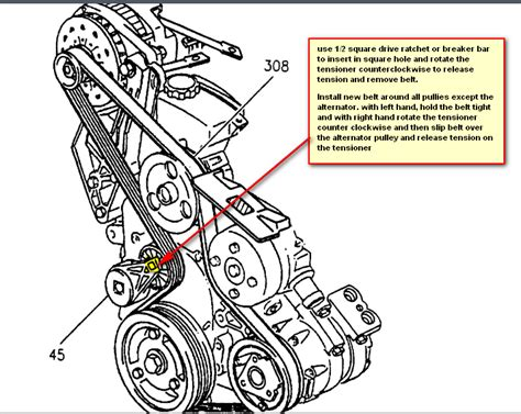 buick rendezvous diagram 03 buick rendezvous belt diagram 03 free engine image for user manual