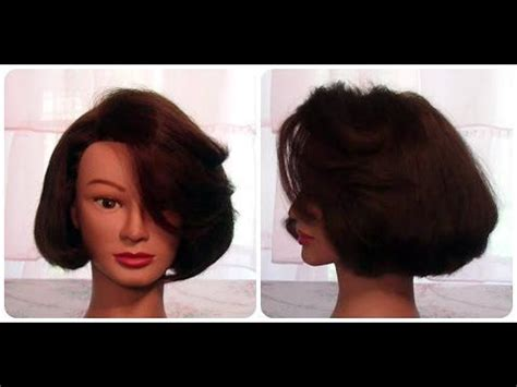 style long bob no heat how to cut hair so it curls under with no heat cut