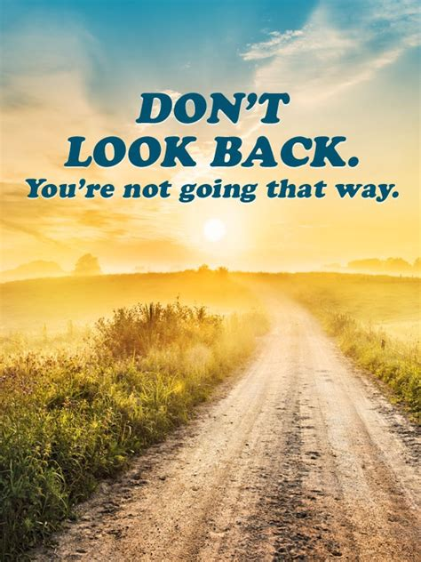 Dont Bet On It quot don t look back you re not going that way quot fitness