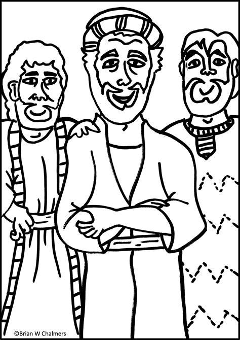 good jesus heals a leper coloring page artsybarksy