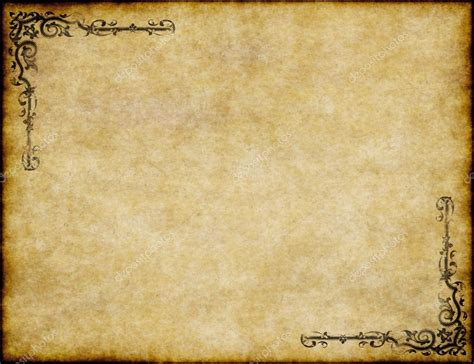 Old Parchment Background Powerpoint Hq Free Download 3401 Parchment Template