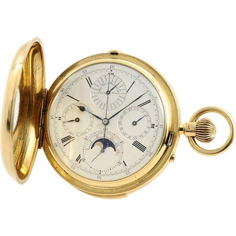 Calendrier Brevete Pocket Audemars Piguet J W Benson Chronograph Minute Repeater