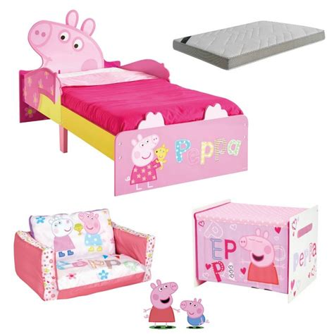 peppa pig bedroom sets peppa pig room 140 x 70cm bainba com