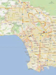 tourist attractions in los angeles map images