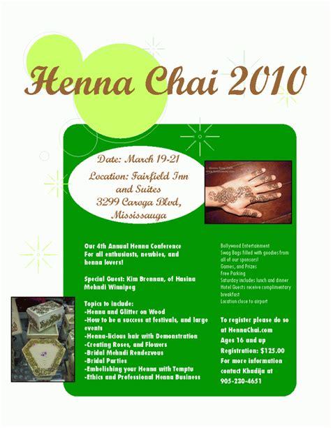 henna artist flyers makedes com