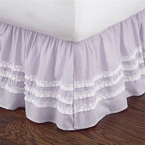 bed skirt full lilac ruched full bed skirt bedroom store