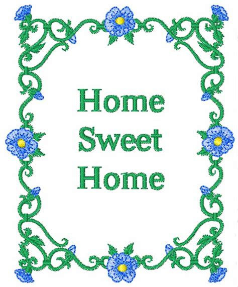 home sweet home homedesign121 home sweet home embroidery design annthegran