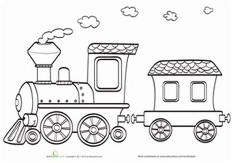 train set coloring page train coloring pages education com