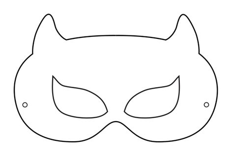 mask template 8 best images of free mask template printable