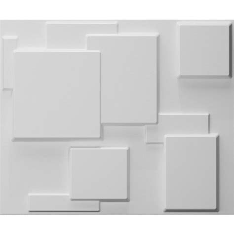 threedwall 32 4 in x 21 6 in x 1 in off white plant