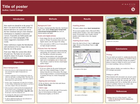 powerpoint template for scientific posters mandegar info