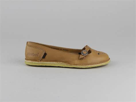 si鑒e bumbo pas cher chaussures kickers kick ballerine ballerines naturel