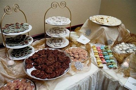 cookie table displays for weddings   kmt31 wedding date