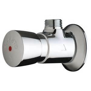 robinet de temporise chrome a poussoir systeme s