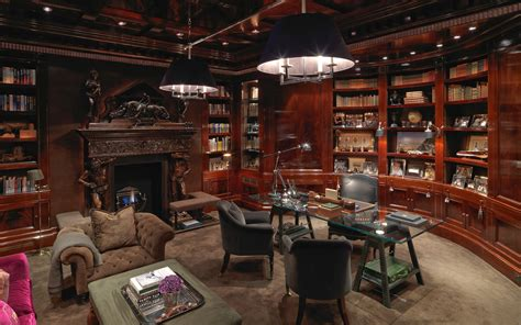 Dream Home Interior Design gentleman s study david collins private residential