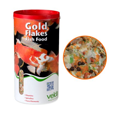 carbohydrates in 99 flake 8 litres 900g velda gold flakes floating pond fish food