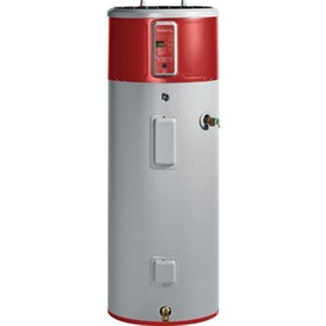 Shop GE GeoSpring 50 Gallon Electric Water Heater with Hybrid Heat Pump at Lowes.com