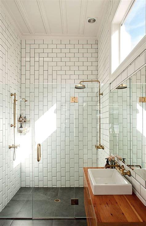 modern subway tile bathroom designs le carrelage metro en 40 id 233 es d 233 co