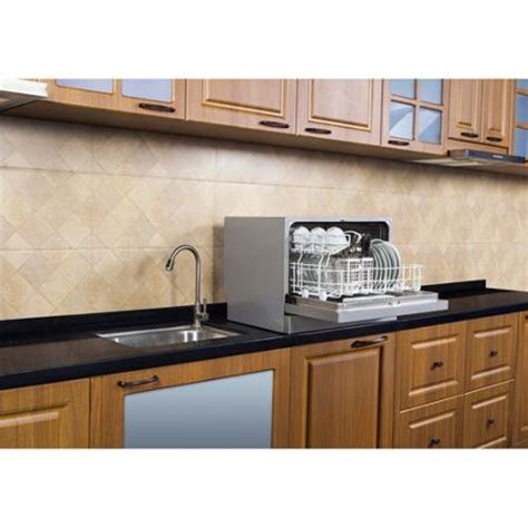 Countertop Dishwasher For Sale by Buy Magic Chef Mcpmcscd6w1w 6 Place Setting Countertop