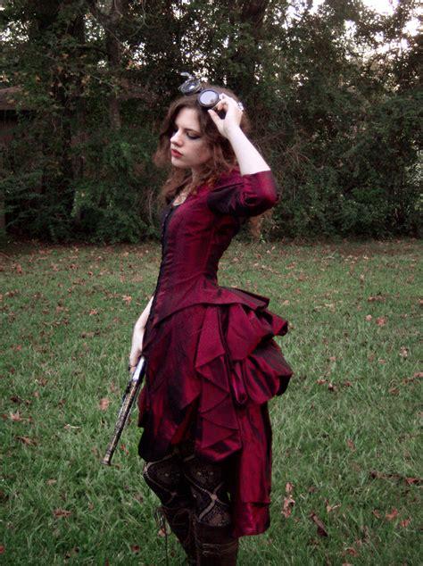 halloween costume contest steampunk victorian dress