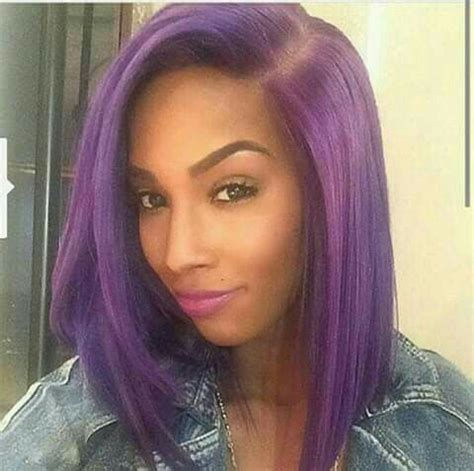 black hairstyles weave on for summerblack and purple like this want more follow me on pintrest