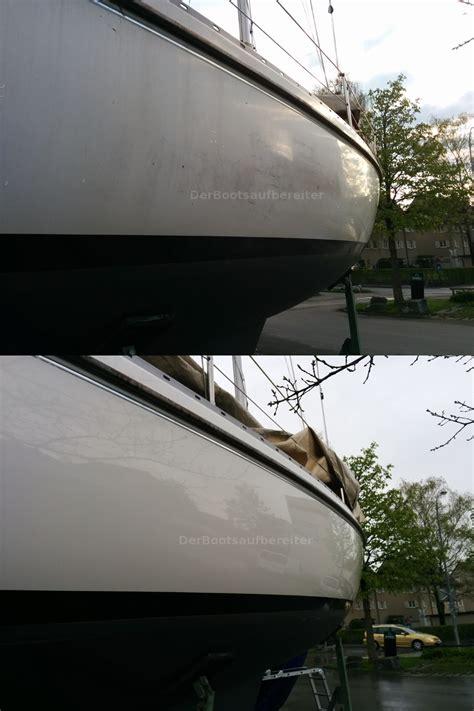 Boot Polieren Kosten aufbereiten polieren einer artekno h 323 bootsservice