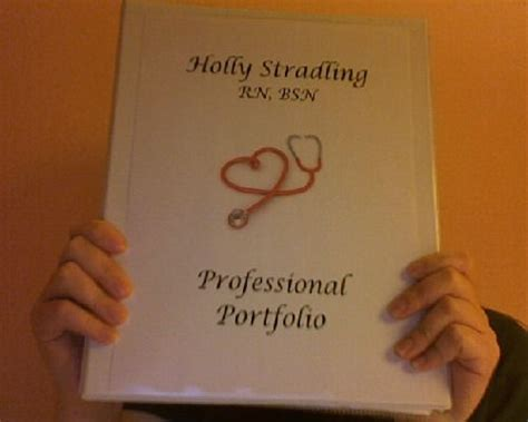 professional portfolio nursing template professional nursin portfolio nursing stuff