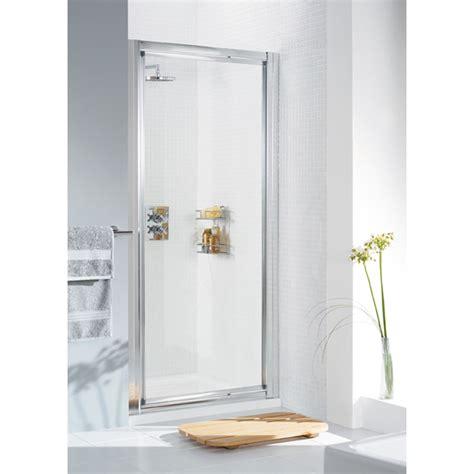 1000 Pivot Shower Door Lakes Framed White Pivot Shower Door 1000 X 1850 Enclosure Buy At Bathroom City