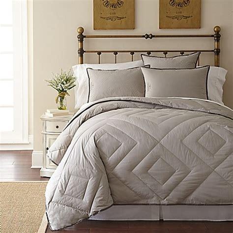 pendleton bedding pendleton 174 vintage wash primaloft 174 comforter in grey www