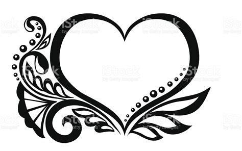 imagenes de corazones en blanco y negro corazones blanco y negro