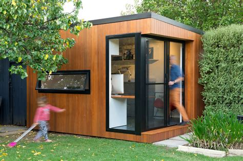 Office Shed 10 Quot Shedquarters Quot Bring The Home Office To Your Backyard