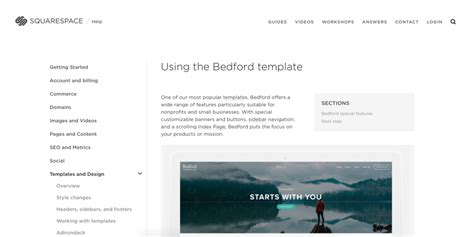 blog features by template squarespace help a step by step guide for choosing the right squarespace