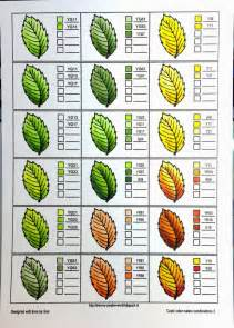 how to color with copics coloring nature with copics leaves crafting for
