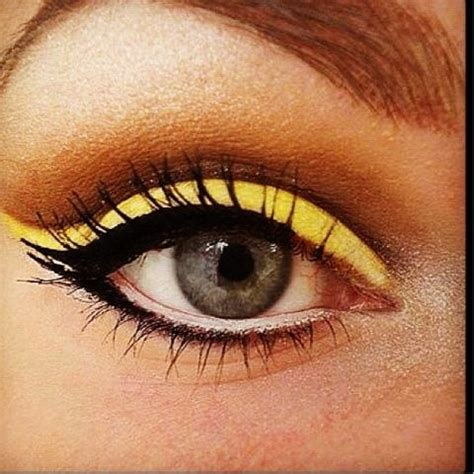 Valege Eye Shadow Brown Yellow 119 best bright myx images on gorgeous makeup make up looks and makeup