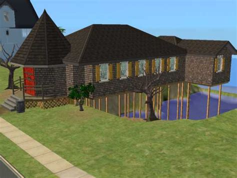 aunt s house mod the sims quot lemony snicket quot aunt josephine s house requested