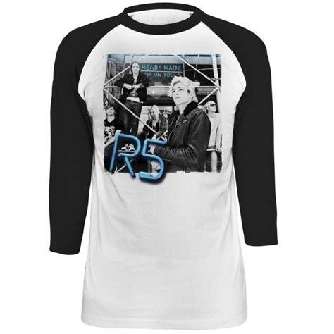tshirt r5 r5 made up on you album cover raglan t shirt r5