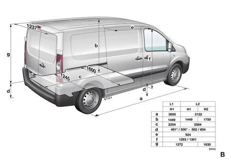 foto peugeot expert furgon foto medidas expert furgon