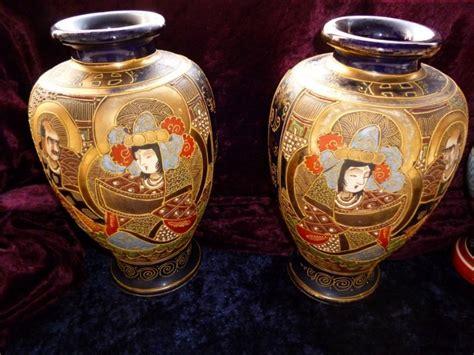 vasi satsuma coppia di vasi satsuma saviarte