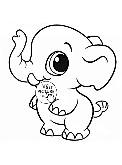 Kawaii Animal Coloring Pages kawaii animal coloring pages to print free coloring