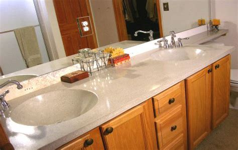 ideas for bathroom countertops bathroom counter ideas white carrera marble countertops