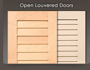 How To Make Louvered Cabinet Doors Custom Louvered Doors Wood Shutters For Cabinets And Closets Walzcraft